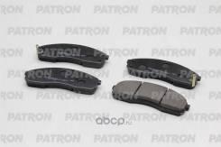Колодки тормозные дисковые передн KIA: Carnival 99-03, Sedona 99-03, Pregio 97- (произведено в Корее) Patron PBP1595KOR