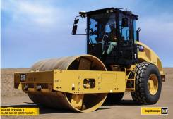 Caterpillar. Грунтовый виброкаток CS74B от официального дилера, 7 010куб. см.