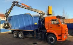 КамАЗ 65115. Ломовоз КамАЗ-65115, кузов 30 куб., Р97М, 6x4