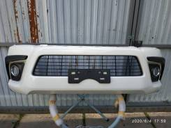 Бампер передний Toyota Hilux Pick Up GUN125 2015+
