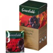 "Чай травяной 25 пак. Гринфилд ""Festive Grape"" (виноград)"