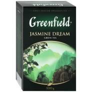 """Чай зеленый листовой 100 г. Гринфилд """"Jasmine Dream"""" (жасмин)"""