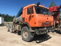 КамАЗ. Продам Камаз седельный тягач с КМУ, 19 000кг., 6x6