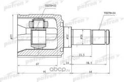 Шрус внутренний левый 24x35x22 KIA Shuma, II/Sephia, II/Mentor, II/Spectra 97-04 Patron PCV1170