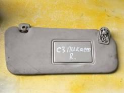 Козырек солнцезащитный правый Citroen Citroen C3 Picasso 2008-2017 [16064158BJ]