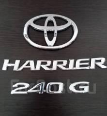 Эмблема багажника. Toyota Harrier