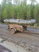 Гладиатор. 2011 год, длина 3,70м., двигатель подвесной, 30,00л.с., бензин