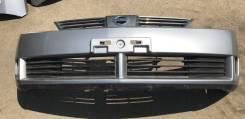 Бампер передний Nissan Wingroad 11 2004 год серебро