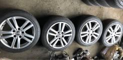 Колеса лето резина 2016 год Dunlop Lemans литье Sparco 205/50R17 93V