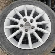 Оригинальные диски Audi R16, 5-112 + летние шины 215/55R16
