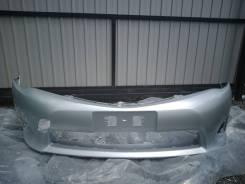 Бампер передний Toyota Corolla Axio/ Fielder NZE161 цвет 1F7 серебро
