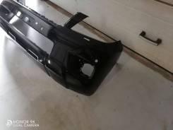 Бампер передний черный Toyota Prado 150 2009 . Оригинал. 52111-60701.