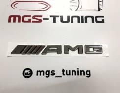 Шильдик AMG нового образца хром Mercedes-Benz