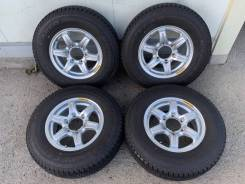 195/80R15 90% зима на литье 6j 35 6/139.7 Toyota Hiace 100-229