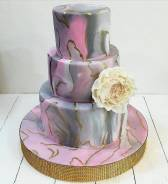 Свадебные торты на заказ! helen_ tort_ vl ! Елена ! Доставка !. Под заказ