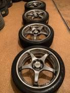 Продам комплект колес Enkei AME на 18 с летней резиной.