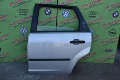 Дверь задняя левая Ford Focus 2 (05-08) голое железо универсал