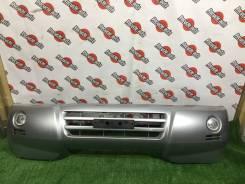Бампер передний Mitsubishi Pajero V73W 2004г 2я модель
