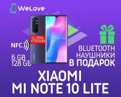 Xiaomi Mi Note 10 Lite. Новый, 128 Гб, 3G, 4G LTE, Dual-SIM, NFC