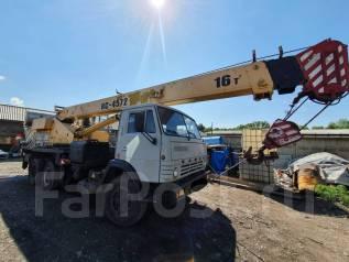КамАЗ. Автокран камаз 16 тонн, 10 850куб. см., 18,00м.