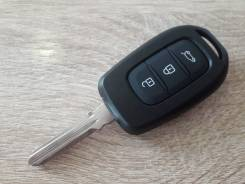 Ключ зажигания. смарт ключ Renault dacia logan sandero. 3 кнопки