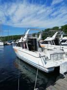 Аренда катера Yanmar 33 фута г. Владивосток