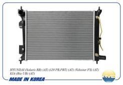 Радиатор Hyundai Solaris / KIA RIO III 11