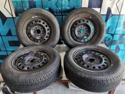 Комплект летних колес 205/65 R15 на дисках 5х114.3 без пробега по РФ