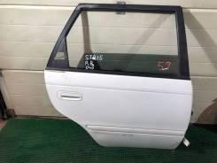 Дверь задняя правая Toyota Caldina ST215 color 040