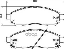 Колодки Тормозные Передние Nissan Leaf 10- / Navara 15- / Np300 Navara 04- / Nv200 / Evalia 10- / Pathfinder Ii 05- / Serena 10-16 /Suzuki Landy 10- N...
