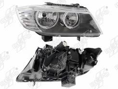 Фара BMW 3-Series E90 4D /E91 WGN 08-12 черная