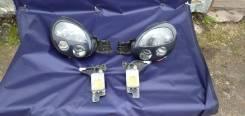 Фары ксенон черные с масками лупарь Subaru Impreza GDB GDA GD GGA Gg