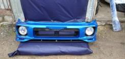 Бампер с губой и туманками Subaru Impreza GDB GDA GD GGA Gg лупатка