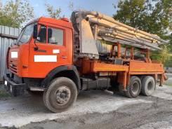 КамАЗ 53215. Автобетононасос на шасси Камаз 53215, 2005 год, 1 100куб. см., 21,00м.