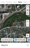 Земельный участок на берегу реки. 600кв.м., собственность, электричество