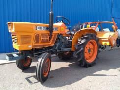 Kubota. Мини-трактор L1511 с фрезой, 17 л.с.