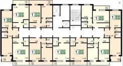 1-комнатная, улица Чернышевского 110. Центральный, частное лицо, 33,4кв.м.