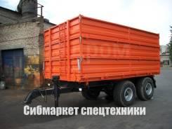 Спецавтотехника 1ПСТ-12У. Новый тракторный прицеп САТ - 1ПСТ12У, 12 000кг.