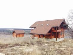Продается бревенчатый дом 2014 г. п. 166 м2 на уч-ке 30 сот. Тульская область, Заокский район, поселок Маяк, Луговая улица, р-н Тульская область, Заок...