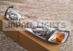 Хрустальная оптика фары светлые Toyota Corona Caldina AT190 ST190
