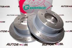 Диски тормозные перфорированные G-brake GFR-01141 (Задние)