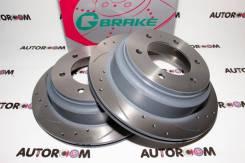 Диски тормозные перфорированные G-brake GFR-02149 (Задние)