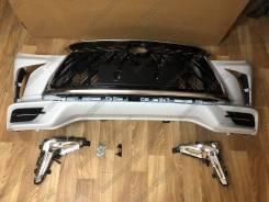 Передний бампер Lexus LX570 2012-2015 Стиль 2016-2019 Superior