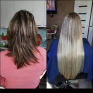 Наращивание волос, коррекция 1 прядь-45