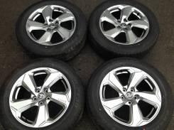 "225/60R18 Dunlop лето, диски оригинал Toyota 5x114.3 made in Japan. 7.0x18"" 5x114.30 ET35"
