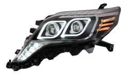 Фары Тюнинг Toyota land cruiser Prado 150 2013+ С глазками рестайлинг