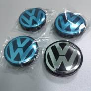 """4шт Volkswagen колпаки 56мм для литых дисков (56/53/8). Диаметр 15"""", 1шт"""