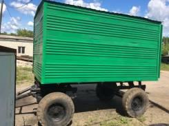 Калачинский 2ПТС-4. Продам вагончик (будку) на колёсах., 2 000кг.