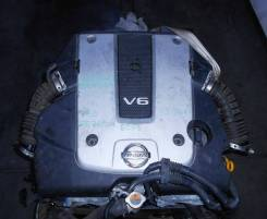 ДВС с КПП, Nissan VQ25-HR - AT RE7R01A RC33 FR V36 73 951 km коса+комп