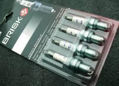 Комплект Свечей зажигания Brisk Super = BKR6ES, Q20PR-U, Q20TT